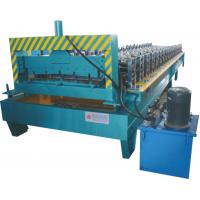 Thickness 0.3 - 0.7mm Roofing Sheet Making Machine Working Speed 0 - 20 M / Min