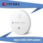 Quality TT White Dental Zirconia Blocks Pre Sintered Zirconial for Zirkonzahn CAD / CAM System wholesale