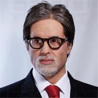 Best bollywood celebrity amitabh bachchan lifesize wax statue for sale wholesale