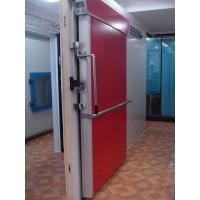 Quality 100mm door leaf with 0.5mm colored steel / Insulated PU Panel Sliding Door for Cold Room wholesale