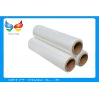 Cheap Calendered Clear PVC Shrink Film packaging 40 Mic Easy Handling , Length 1000m-5000m for sale