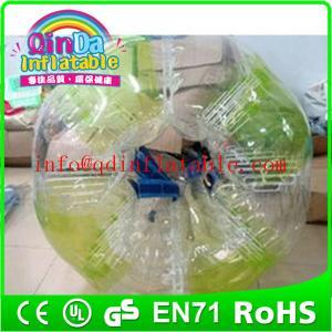 QinDa Inflatable kids or adults bubble football,soccer bubble,bubble soccer