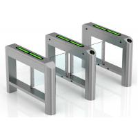 Quality High Security Supermarket Swing Gate Card Reading Smart Turnstile wholesale