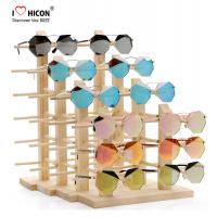 Quality Amazing Clients Wooden Sunglasses Display Stand Counter Top Advertising Equipment wholesale