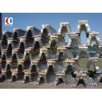 Best Arch Type Natural Solid Boat Rubber Fender , High Energy Absorption wholesale