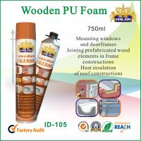 Quality Waterproof Wooden Pu Foam Spray / Seals 750ml For Door Frame And Window wholesale