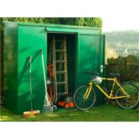6x4ft hot dipped metal shed
