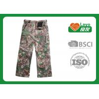 Best Outdoor Womens Fashion Hunting Camo Pants , Army Camo Pants For Women wholesale