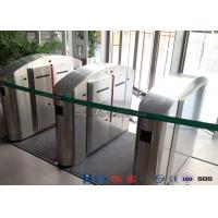 Quality TCP / IP Flap Turnstile Security Gate Access Control Wheelchair Lanes For Subway Doors wholesale