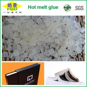 EVA Hot Melt Glue Used For Bookbinding , High Initial Viscosity Book Binding Adhesive Glue