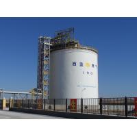 Cheap Large Vertical LIN / LAr / Liquid Nitrogen Storage Tank 200M3-50000M3 for sale