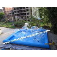 Best Durable 0.6mm Inflatable Water Pools , Fashion Water Park Water Walking Ball wholesale
