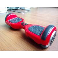 Christmas Gift Red Mini Balance Scooter Smart Electric Board With Front Led Light