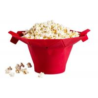 Movie Theater Silicone Microwave Popcorn Popper With Built In Measurements