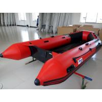 Quality Neoprene / Hypalon 6 Man Inflatable Boat Small Inflatable Kayak With Plywood Floor wholesale