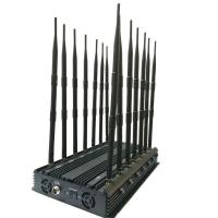 Best Jammer,Cellphone jammer,14 antennas GPS L1 L2 L5 WIFI VHF UHF 4G 315 433 Lojack Cell Phone Jammer wholesale