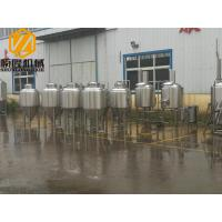 Metal Industrial Beer Equipment SS304 Or Cooper Material With Tanks / Pumps