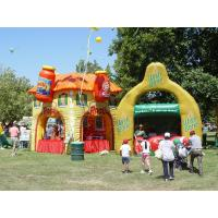 Quality Colorful display advertising inflatables booth Kiosks for outside exhibition wholesale