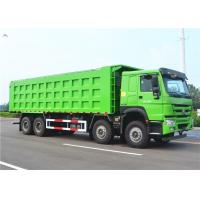 Buy cheap SINOTRUK HOWO 8X4 Dump truck Tipper truck 33 CBM/ 50t loading capacity from wholesalers