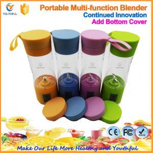 Best New Arrival 400ML Portable Electric Rechargeable Fruit Juicer Cup/Blender Bottle wholesale