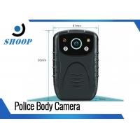 """Compact Motion Detection Body Worn HD Camera For Police 2.0"""" LCD Display"""