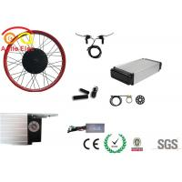 Quality 500 Watt Fat Tire Electric Bike Conversion Kit With Rear Rack Type Battery wholesale