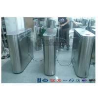 Quality Indoor / Outdoor Flap Barrier Turnstile Waist Height Turnstile Sliding High Speed wholesale