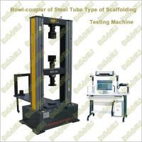 Quality Computer Control Steel Tube Scaffold Couplers/Member Testing Machine wholesale