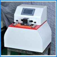 Quality Microcomputer Paper Testing Equipments , Fastness Ink Rub Tester wholesale