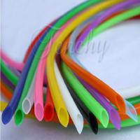 Quality Odorless High Temp Silicone Tubing Food Grade Round Shaped For Medical Devices wholesale