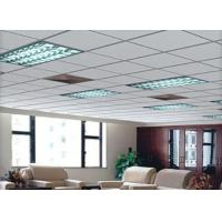 Fire Rated Ceiling Fiber Cement Board , Calcium Silicate Fiber Ceiling Tiles Durable