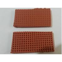Quality yellow / Red Perforated Silicone Foam Sheet Size 10mm X 0.9m X 1.8m wholesale