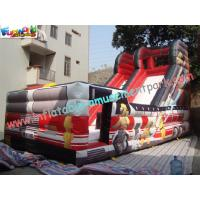 Outdoor Large 0.55mm PVC tarpaulin Inflatable Commercial Inflatable Slide for Kids Playing