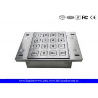 Quality Vending Machine Dust Proof Numeric Key Pad Metal With USB Interface wholesale