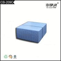 Quality Promotional Beautiful Blue Cardboard Boxes , Fancy Paper Gift Box For Hand Cream wholesale