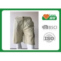 Best 100% Polyester Waterproof Solid Color Quick Dry Pants For Camping / Running L-030 wholesale