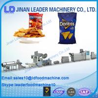 Quality New Automatic Doritos Tortilla Corn Chips Processing machine/Nachos doritos chips machine wholesale