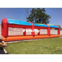 Best Kids Outdoor Colorful Mini Inflatable Water Pools With Tent Cover 15 L * 4 W wholesale