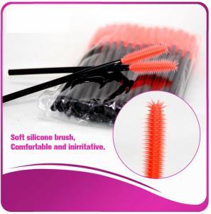 Multi -Top Silicone Mascara Applicator Brushes , Fashionable Eyelash Extension Brush