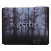 Promotional Rubber Cloth Mouse Pad with Nontoxic Rubber Base 180*220*2mm