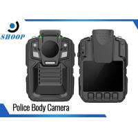 Quality Night Vision Body Worn Video Cameras Police With Charging Dock 3900mAh wholesale