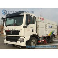 Buy cheap HOWO 7M3 7000L / 5000L 5M3 Sanitation Truck Road Cleaning Truck 4X2 from wholesalers