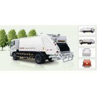 Buy cheap 9600L Rear Loader Garbage Truck from wholesalers