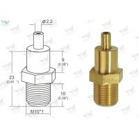 Gold Raw Brass Ceiling Cable Hanging System M 10 Thread Cable Bottom Exit
