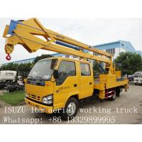 hot sale best price CLW brand 12m-24m high altitude operation truck, factory direct sale CLW brand aerial working truck