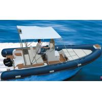 Best Rigid Hull Inflatable Rib Boat Abrasion Resistance 600 Cm With Boat Trailer wholesale