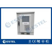 Quality Small Size Outdoor Telecom Equipment Cabinets Customized Sheet Metal Box With Heat Exchanger wholesale