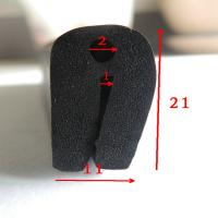 Quality Extruded Epdm Foam U - Shaped Rubber Seal  For Cabinet Box wholesale