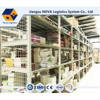 Buy cheap High Space Utilization Multi Tier Mezzanine Rack Arrives / Jiangsu NOVA Brand from wholesalers