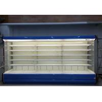 5 Layers Open Front Display Cooler , Supermarket Refrigeration Equipment